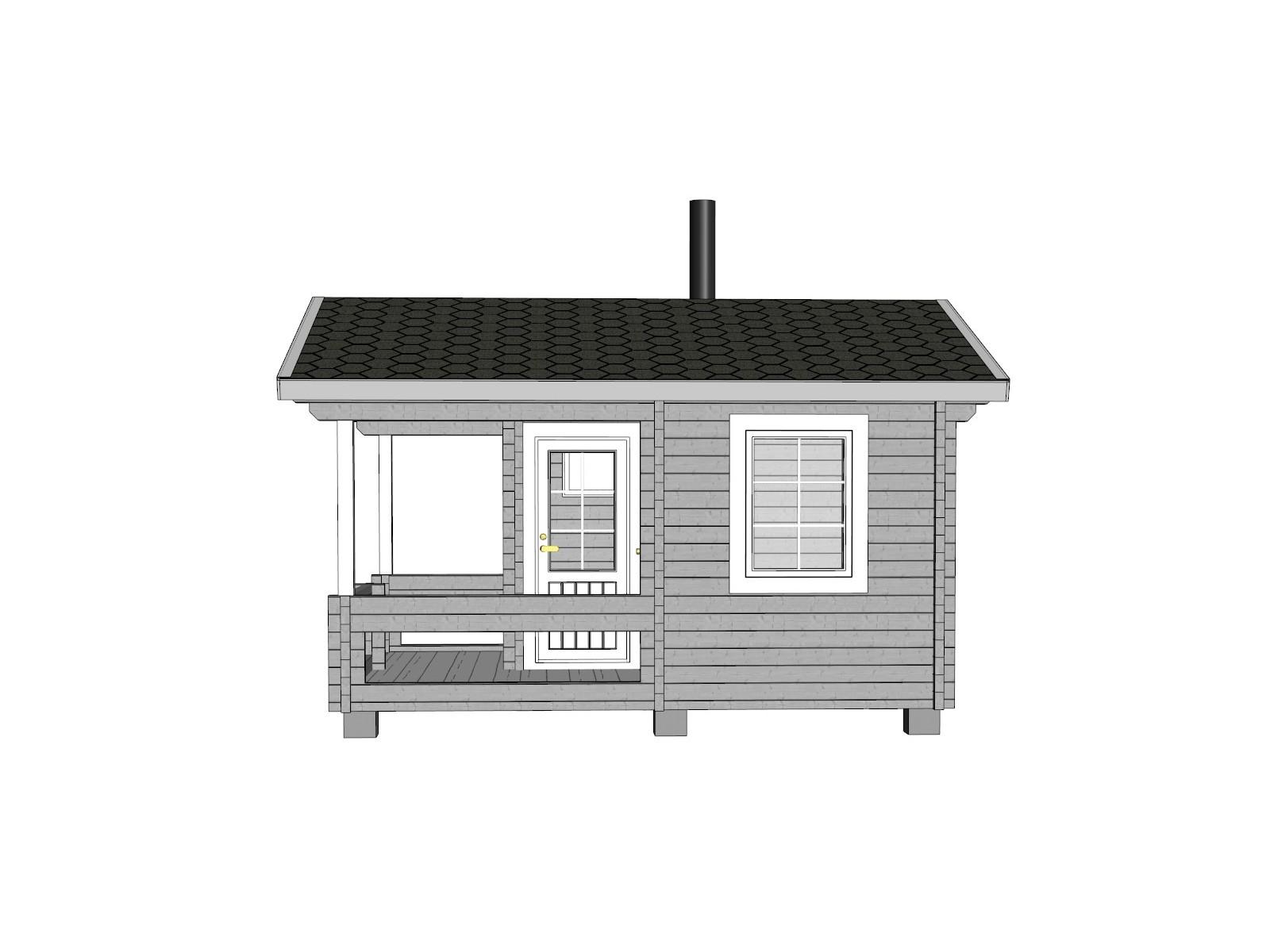Sauna Keno - Mallinnuskuva oikea
