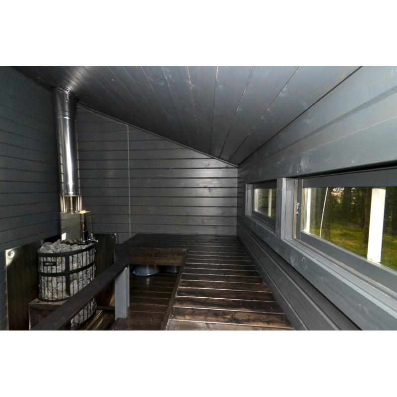 Sauna Sointu - Kuva lauteista