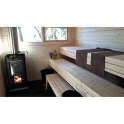 Sauna Jalo - Saunan puoli