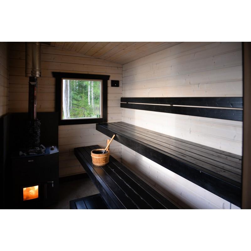 Sauna Kuikka - Lauteet