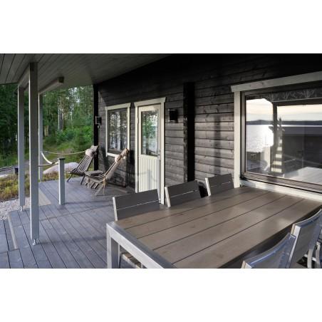 Lomamökki Kettuholma - Näkymää terassilta