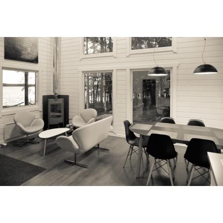 Lomamökki Kettuholma - Olohuone