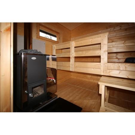 Saunamökki Tuohi - Valokuva saunasta