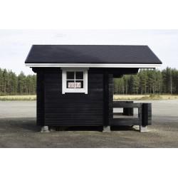 Sauna Siima (136 mm) - Valokuva vasemmalta