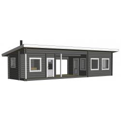 Sauna Kuikka 90x195 (Hirsikehikko)