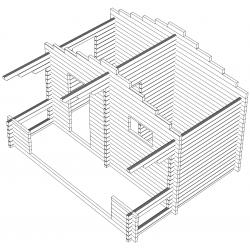Hirsikehikko, Rento Plus, 70 mm yleismalli