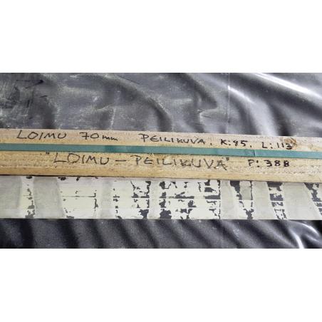 Sauna Loimu, toimitusvalmis hirsikehikko 70x145 - Kuva paketista