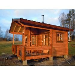 Hirsikehikko, Sauna Pilvi, 70 mm