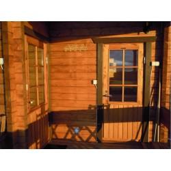 Hirsikehikko, Sauna Pilvi, 70 mm - Sauna asiakkaan pystyttämänä
