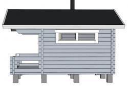 Rento Plus - Pidennetty malli 90x195 - Mallinnus sivulta